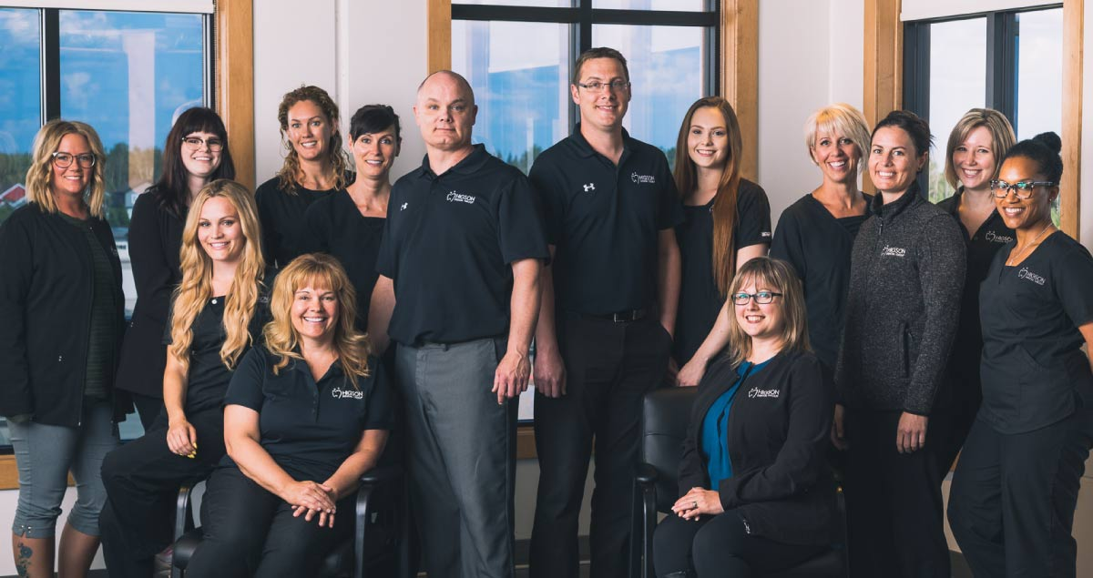Higson Dental, Grande Prairie Alberta - Team Photo of dental office